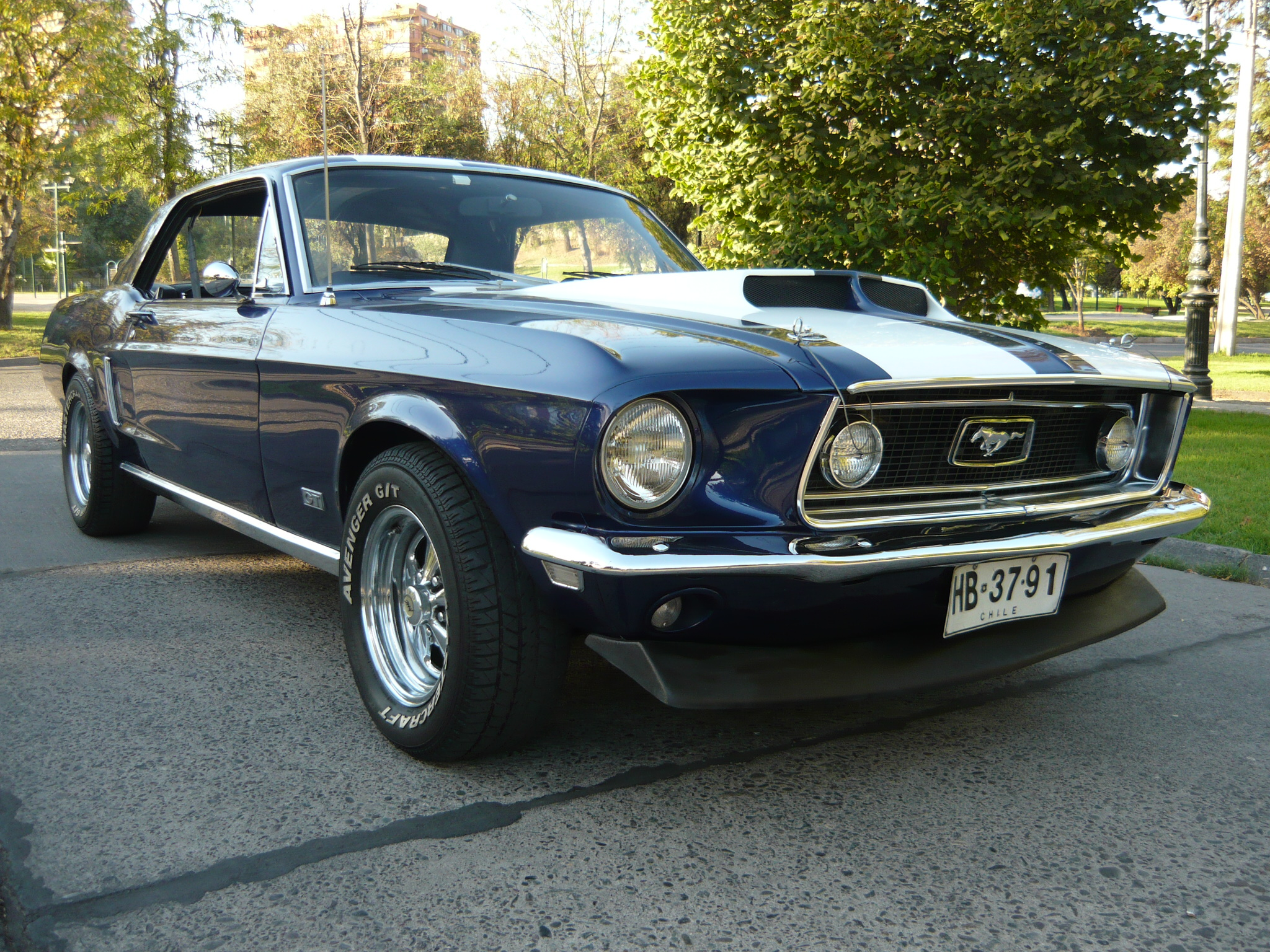 Ford Mustang GT 1968 - AutoMark