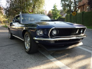 Ford Mustang Mach1 V8 351 1969